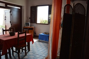 living room studio by the sea at La Terrazza sul Mare in Avola
