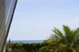 Vista mare dalla finestra\