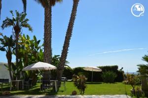 b&b avola, hotel avola, con giardino di palme, cocos, prato inglese, colori meditteranei sicilia